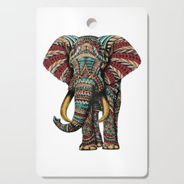 Ornate Elephant (Color Version) Cutting Board