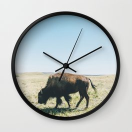 Waterton Locals Wall Clock