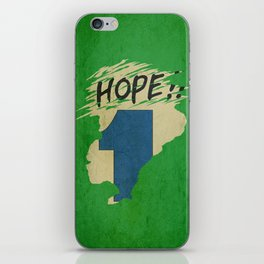 Hope!! (time machine ) iPhone Skin