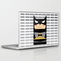 superhero Laptop & iPad Skins featuring Superhero by Xiao Twins