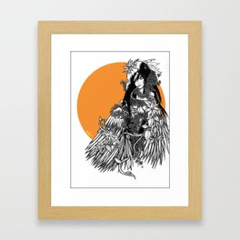 harpie Framed Art Print