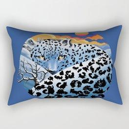 Snow cats Rectangular Pillow