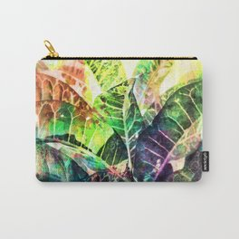 Splatter Leaves Carry-All Pouch