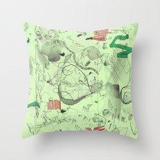 7-14-15 Throw Pillow