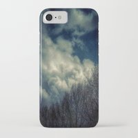 murakami iPhone & iPod Cases featuring Evening Sky by Geni