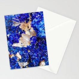 Crystalline Stone Rock Gem Stationery Cards