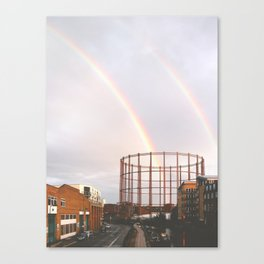 Rainbows in Hackney Canvas Print