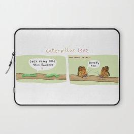 Caterpillar Love Laptop Sleeve