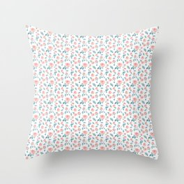 Rosae Rosarum Throw Pillow