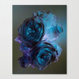 The Modern Rose Bunch Canvas Print