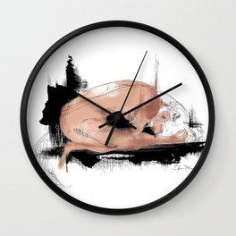 Fish-woman Wall Clock