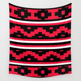 Etnico red version Wall Tapestry