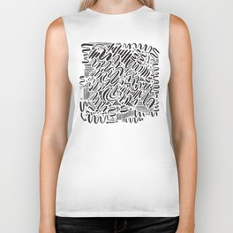 SQUIGGLY WIGGLY Biker Tank