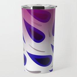 design Blue elements Paisleys Travel Mug