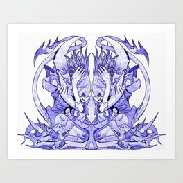 Halgrath Art Print
