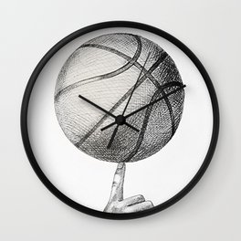 Basketball spin Wall Clock