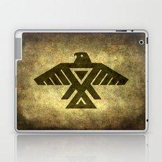 Symbol of the Anishinaabe, Ojibwe (Chippewa) on  parchment Laptop & iPad Skin
