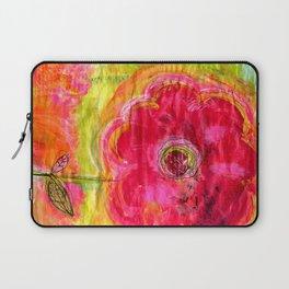Soul Flower Laptop Sleeve