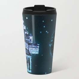 Leviathan BLUE / Keep on trucking Travel Mug