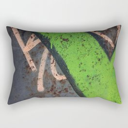 Rustin' piece Rectangular Pillow