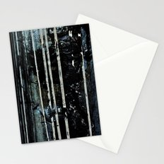 Birch Forrest At Night Stationery Cards