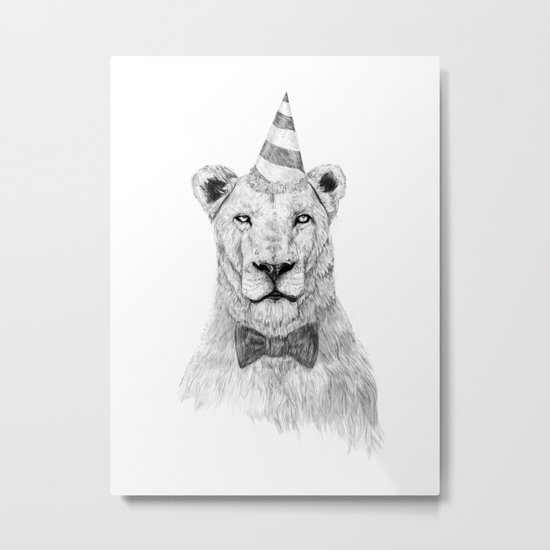 Get the party started Metal Print