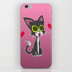Feline In Love iPhone & iPod Skin