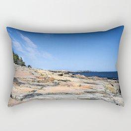 The Schoodic View of Maine Rectangular Pillow