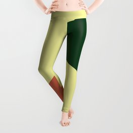 Minimalism Abstract Colors #18 Leggings