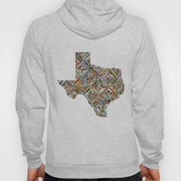 Map of Texas Hoody