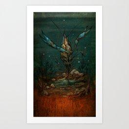 Crooked Creek #1 Art Print