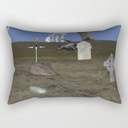 War Stars: find your color and rule Rectangular Pillow