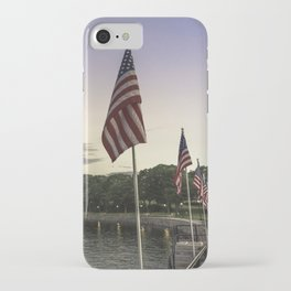 Boulevard summer sundown iPhone Case