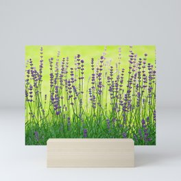 Lavender Pattern Mini Art Print