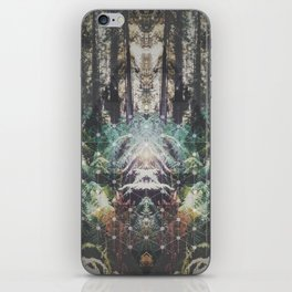 Forest Grid iPhone Skin