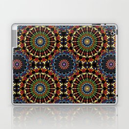 Stained Glass Mandalas Laptop & iPad Skin