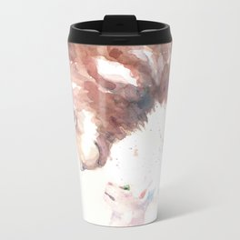 The bear, the cat and the tree of truth Metal Travel Mug