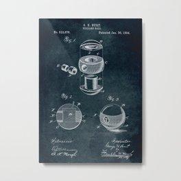 1894 - Billiard ball Metal Print