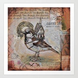 Church Bird Art Print