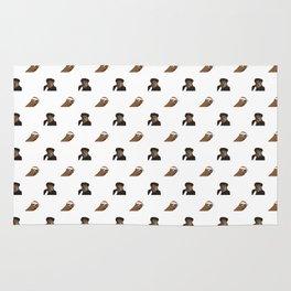 Biggie & Tupac Pattern Rug