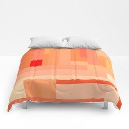 Tangerine Gradient Comforters