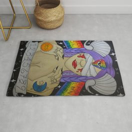 Ouija Board Demon Rug