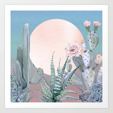 Desert Twilight by Nature Magick Art Print