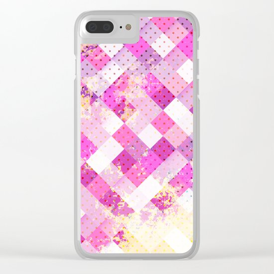 Sweet in Pink Clear iPhone Case