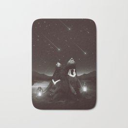 my sun, my moon, and all my stars Bath Mat
