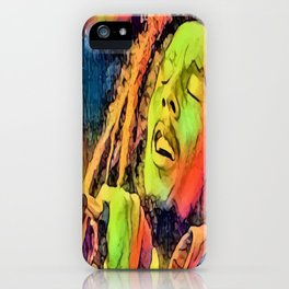 Artistic Marley iPhone Case