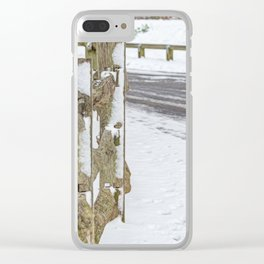 Winters day. Clear iPhone Case