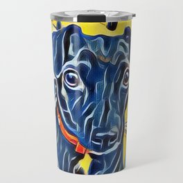 Pop Art Jack Russell Travel Mug