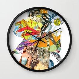 CutOuts - 4 Wall Clock