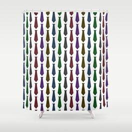 Tie Pattern Shower Curtain
